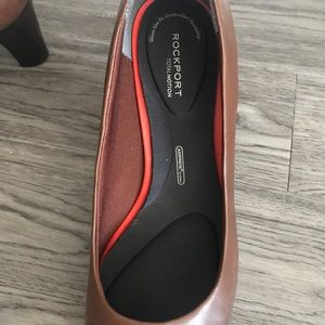 Brown Leather Pump